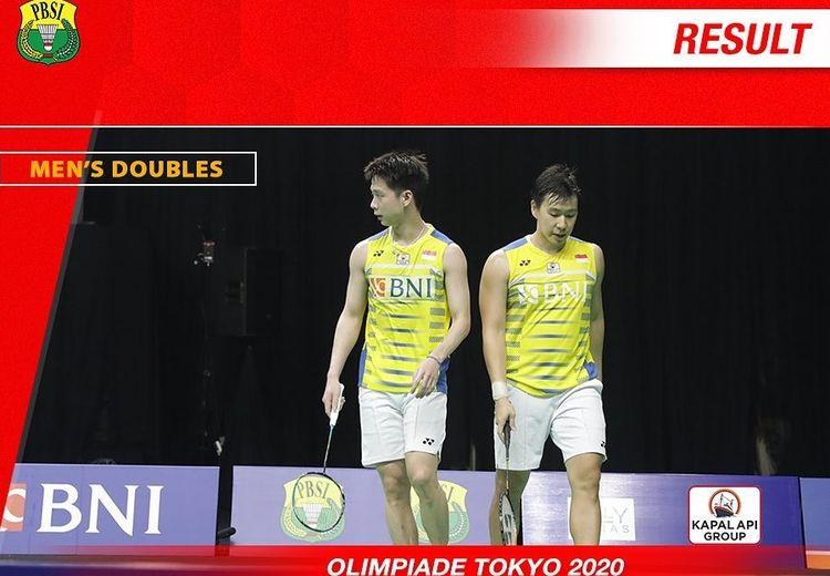 Olimpiade Tokyo 2020 - Unggul dari Rekor Pertemuan, Marcus/Kevin Tak Ingin Terlena di Perempat Final
