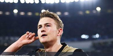 Rekrut Matthijs de Ligt, Iker Casillas Sebut Juventus bak Pesulap