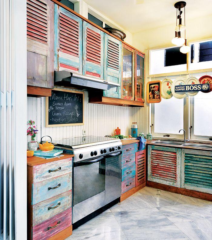 Inpirasi Dapur Yang Tampil Memukau Dominasi Jati Belanda Bisa Jadi Jawaban Semua Halaman Idea