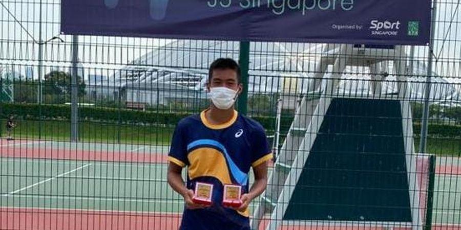Tampil Gemilang, Petenis Muda Indonesia Sabet 2 Gelar di Singapura