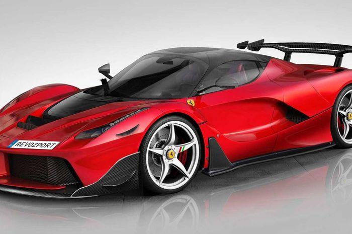 Modifikasi Ferrari LaFerrari