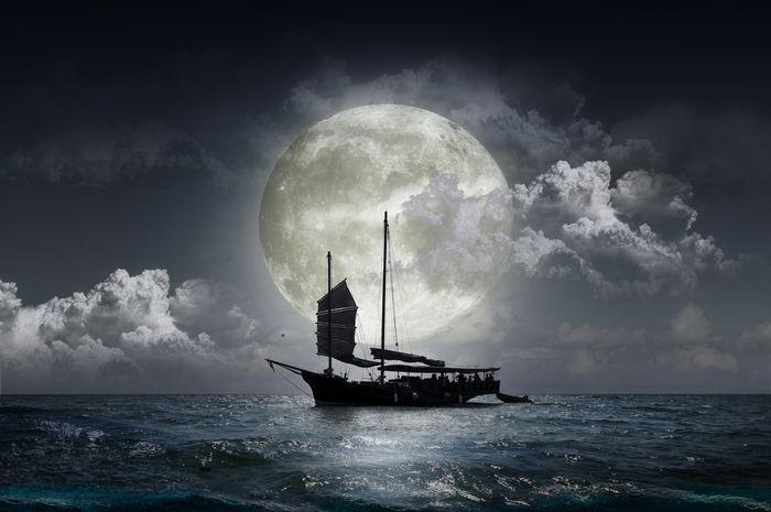 Ilustrasi bajak laut.