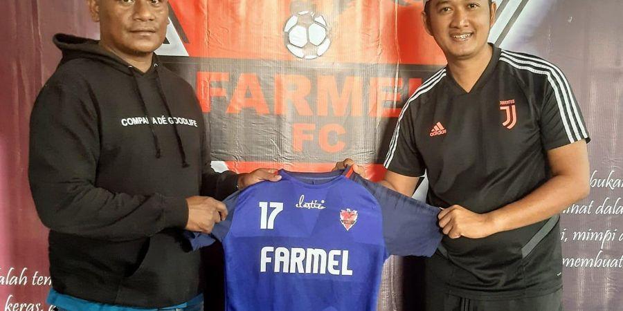 Adnan Mahing Ditunjuk Jadi Pelatih Klub Pendatang Baru Liga 3 Farmel FC