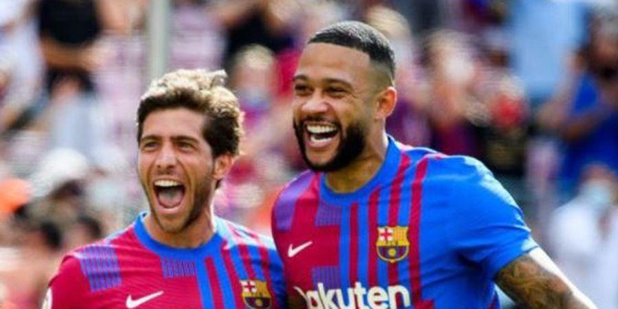 Lupakan Lionel Messi, Memphis Depay Jadi Raja Gocek Liga Spanyol