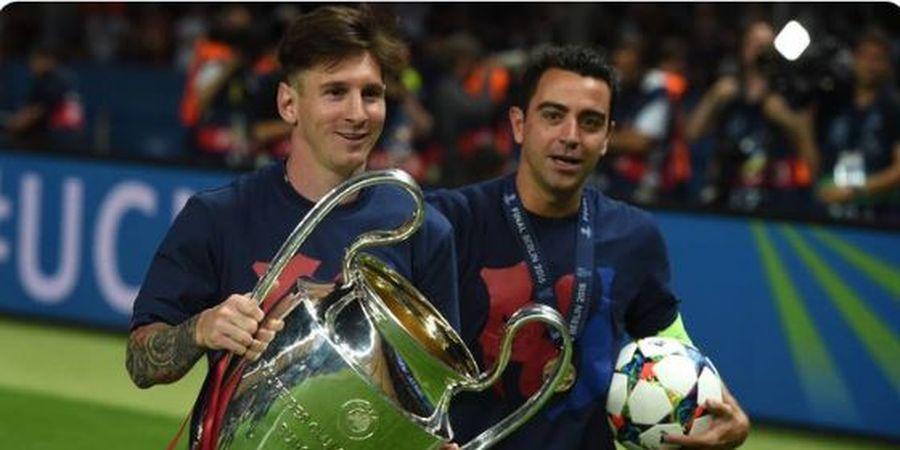 Barcelona vs Cadiz - Momen Tepat Lionel Messi Tinggalkan Xavi