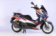 Terinspirasi Helm Arai Maverick Vinales, Yamaha NMAX Ini Tampil Menonjol
