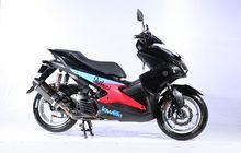 Modal Rp 15 Juta, Aerox Bergaya Racing Minimalis Ini Sabet Best Daily