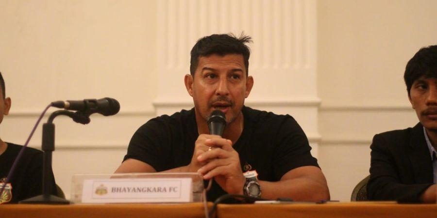 Saat Bhayangkara FC Terpuruk, Sang Pelatih Justru Tuai Pujian