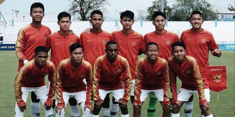 Jadwal Timnas U-16 Indonesia di Kualifikasi Piala Asia U-16 2020