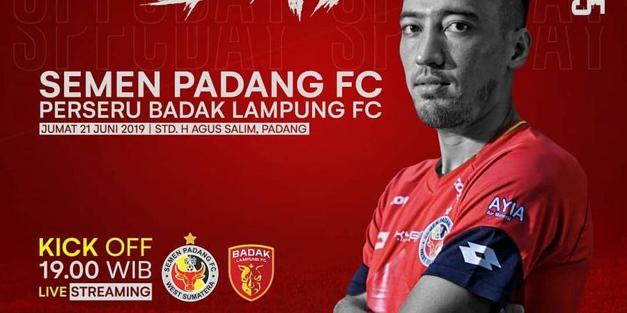 Live Streaming Semen Padang Vs Badak Lampung FC di Liga 1 2019