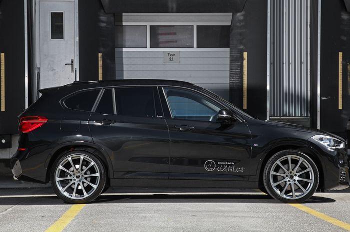 BMW X1 garapan bengkel modifikasi Dahler