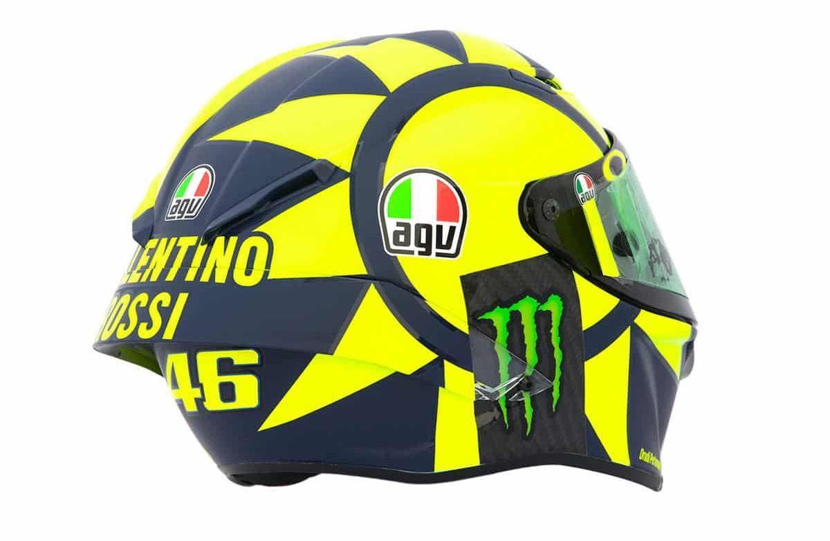Apa Nih Maksud Logo Matahari Dan Bulan Di Helm Valentino Rossi Motorplus