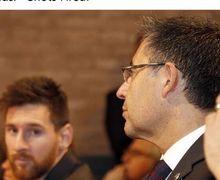 Berani Jual Lionel Messi dari Barcelona? Penjara Menanti Bartomeu!