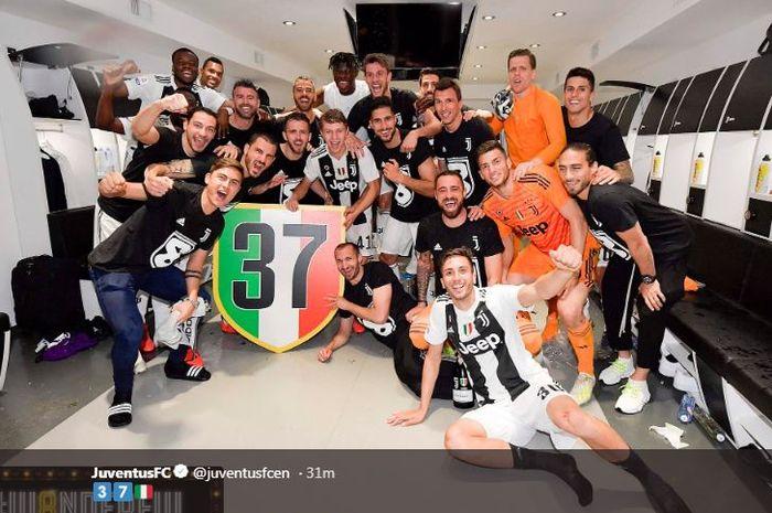 Juventus menjadi juara Liga Italia 2018-2019.
