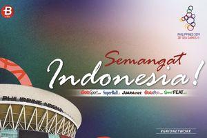Update Klasemen SEA Games 2019 - Dapat 10 Medali Emas, Indonesia Sukses Merangsek ke Posisi 3 Besar