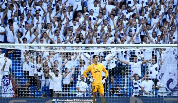 Kiper Real Madrid, Thibaut Courtois.