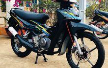 Sukses Bikin Bangga Suzuki Satria 2-tak Lawas Tampil Kinyis-kinyis