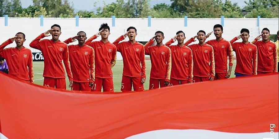 Korsel Menanti, Timnas U-15 Indonesia Tumbangkan Montengero di Boys Elite Football Tournament 2019