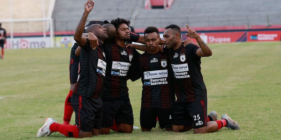 Dikalahkan Persija, Persipura Menyerah Kejar Bali United di Klasemen Liga 1 2019