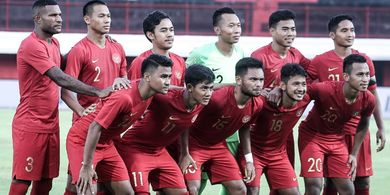 Kans Timnas U-23 Indonesia untuk Juara di Turnamen CFA Pupus