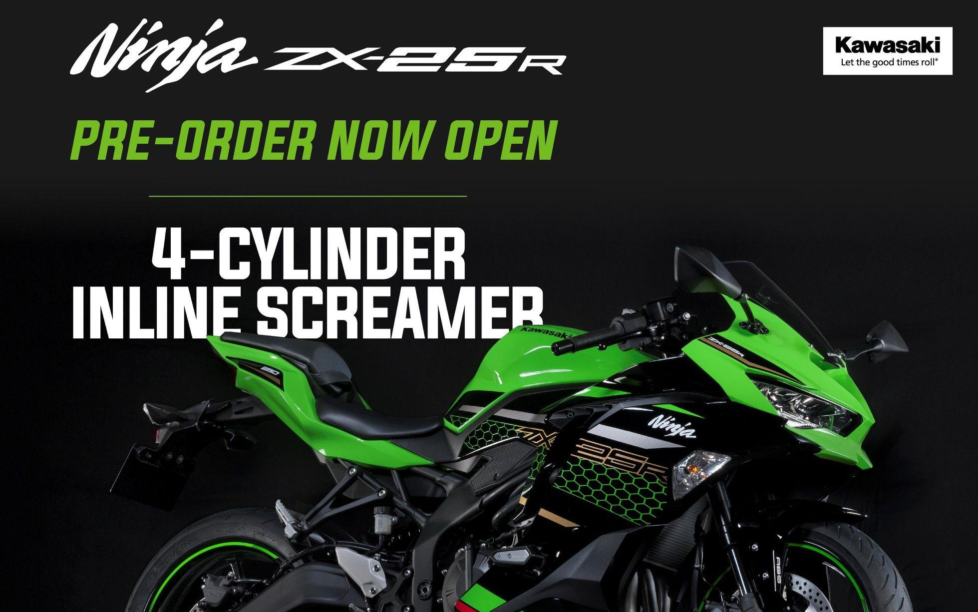 Hore Ini Bocoran Harga Kawasaki Ninja Zx 25r Dan Waktu Sampai Di Tangan Konsumen Yang Sudah Inden Motorplus