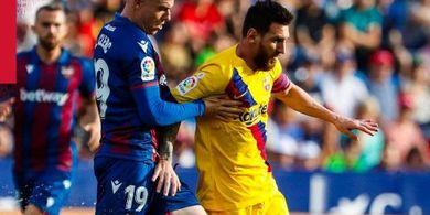 Video - Mengenang Momen Langka saat Messi dan David Villa Bersitegang