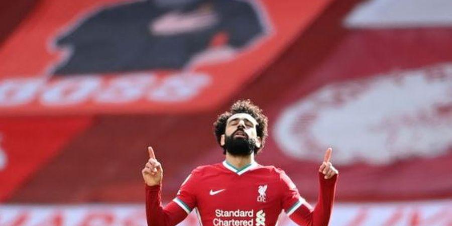 Mohamed Salah Ukir Rekor Langka, Rajin Cetak Gol 9 Laga Beruntun Bareng Liverpool