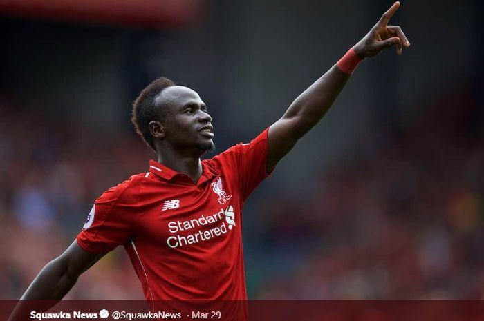 Pemain Liverpool, Sadio Mane
