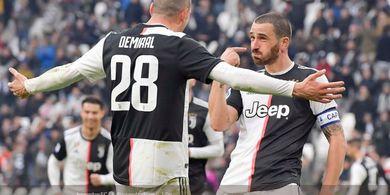 AC Milan vs Juventus - Perang Dua Tim Pemilik Benteng Tertangguh