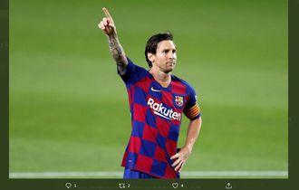 Lionel Messi Pernah Membuat Pemain Ini Terharu Setelah Barcelona Mengalahkan Timnya 8-0