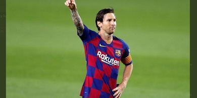 Hasil Liga Champions - Lionel Messi Permalukan 3 Pemain Napoli, Barcelona Lolos ke Perempat Final