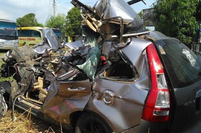 Ilustrasi kecelakaan di jalur mudik