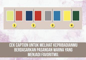 Menarik! Pilihan Kombinasi Warna Ini Bisa Ungkap Kepribadian Kita loh!