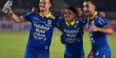 Unjuk Gigi di Laga Badak Lampung FC Vs Persib, Begini Respons Beckham