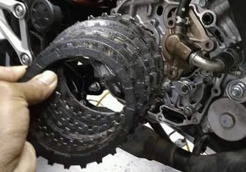 Tenaga Motor Loyo dan Boros Bensin, Kampas Kopling Biang Keroknya