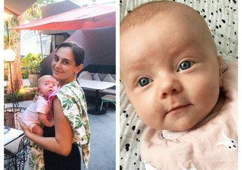 Marissa Nasution Unggah Foto Bayi Bermata Birunya yang Sedang Cemberut, Warganet Gemas!