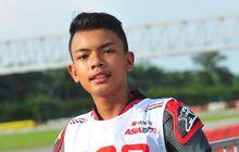 Bocah Indonesia Pimpin Uji Coba Asia Talent Cup 2019 di Sepang