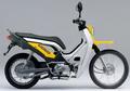 Aneh Tapi Nyata, Motor Bebek Pakai Baju Zoomer X Bergaya Trail