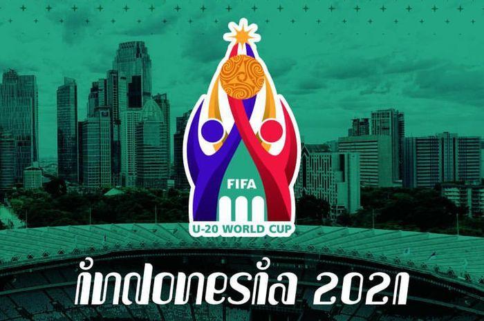 Logo yang digunakan PSSI dalam bidding Piala Dunia U-20 2021 di Indonesia