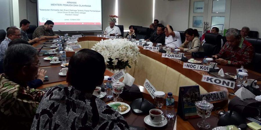Efek Virus Corona, Kompetisi Dunia Batal, Indonesia Belum
