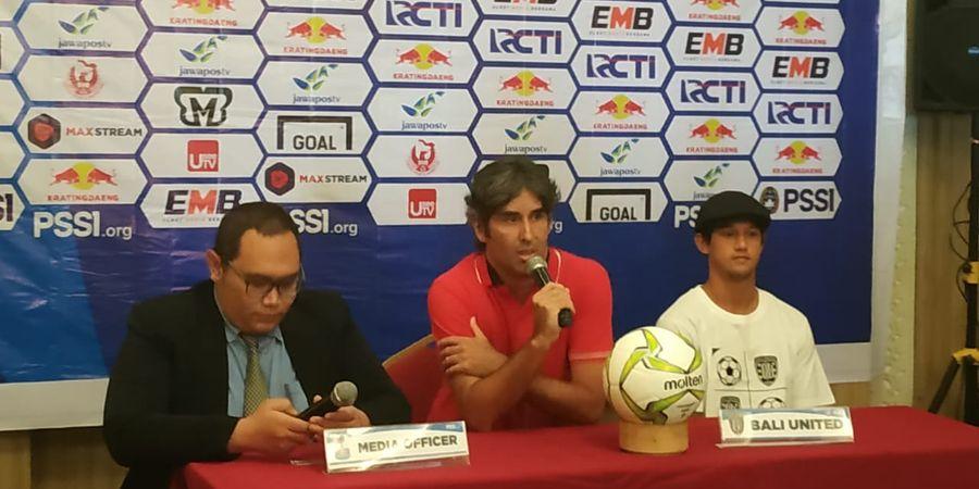 Bali United Bersua Persebaya Tanpa Penonton,  Inilah Optimisme Teco