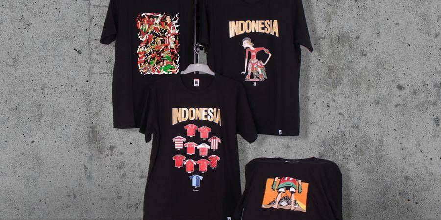Lewat Kaus, Hooligans Berkarya untuk Merayakan Sepak Bola Indonesia