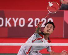 Hasil Olimpiade Tokyo 2020 - Ginting Gunting Wakil Jepang, Tuan Rumah Menangis Lagi!