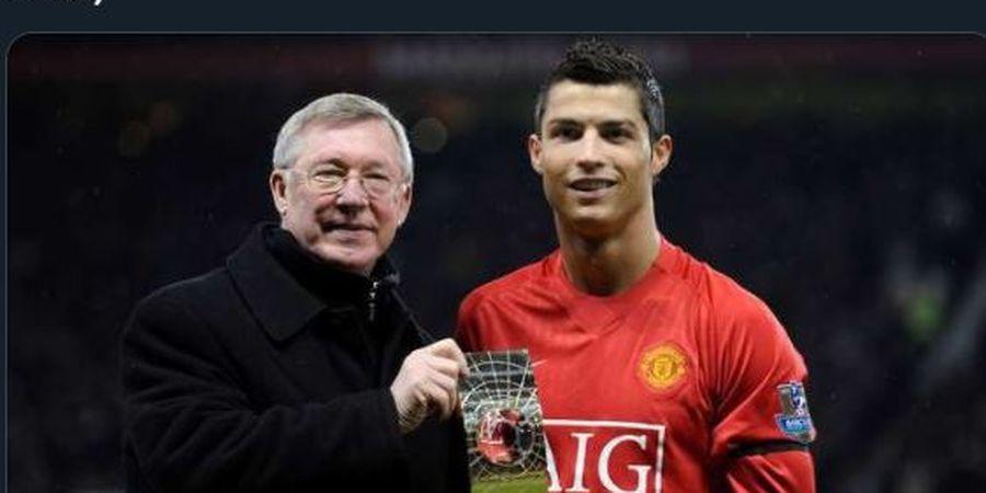 Sir Alex Ferguson Ungkap Alasan Dirinya Rela Lepas Cristiano Ronaldo ke Real Madrid