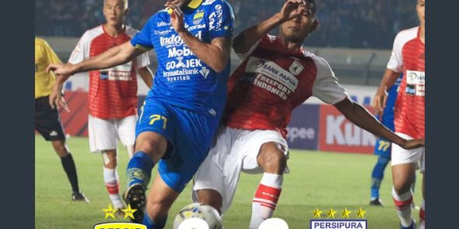 Hasil Liga 1 - Tira Persikabo Mulus, Persib Hapus Tren Buruk di Laga Perdana
