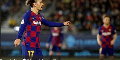 Hasil Copa del Rey - Messi Ditinggal, Griezmann Jadi Pahlawan Barcelona