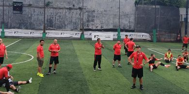 Jelang Lawan Borneo FC, Pemain Persija Jakarta Dapat Materi Khusus