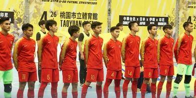 Timnas Futsal U-20 Indonesia Kalah dari Jepang di Ajang Uji Coba
