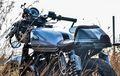 Yamaha RX King Dibikin Cafe Racer, Tampilannya Cungkring Nan Klasik
