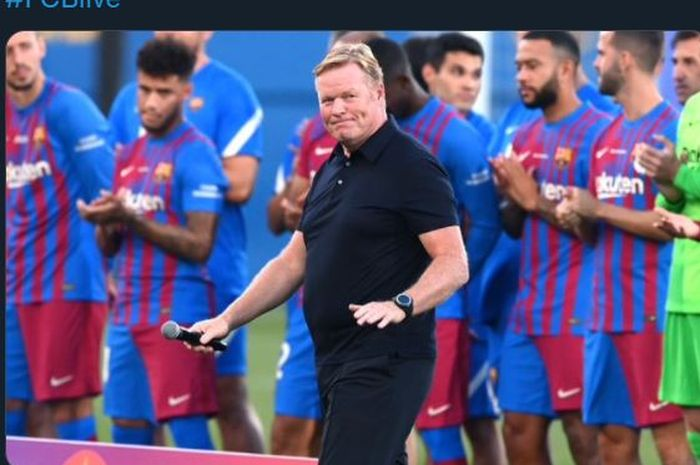 Barcelona Krisis, Sergio Busquets: Paling Gampang Ya Pecat Ronald Koeman! -  Bolasport.com